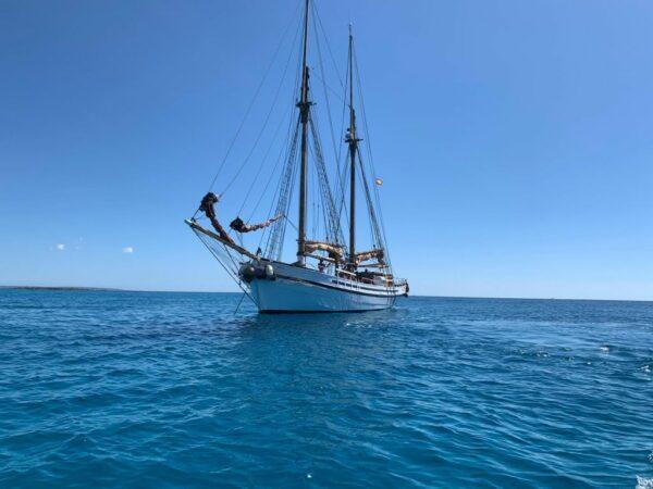 Gulet Saga Ibiza meet the sea