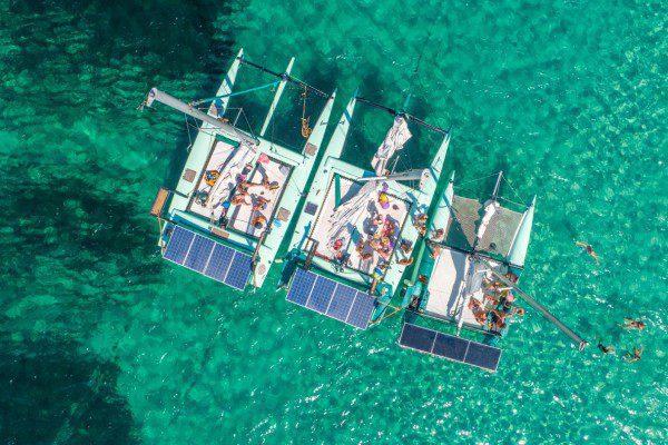 catamaran solaire la bella verde1