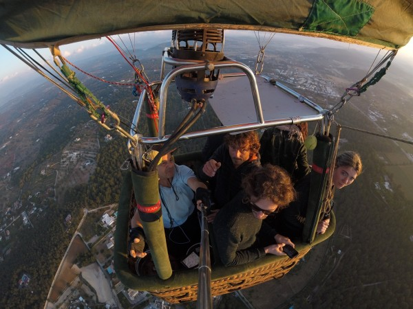 private balloon excursion