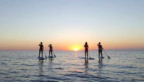 COUCHER DE SOLEIL PADDLE SURF IBIZA 1